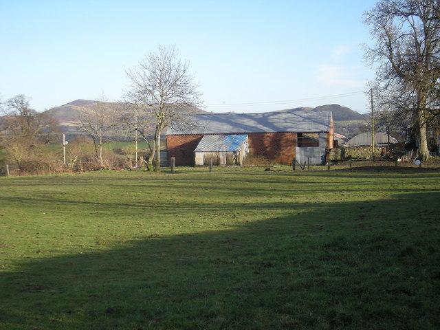 Farm buildings at Upper Gwarthlow