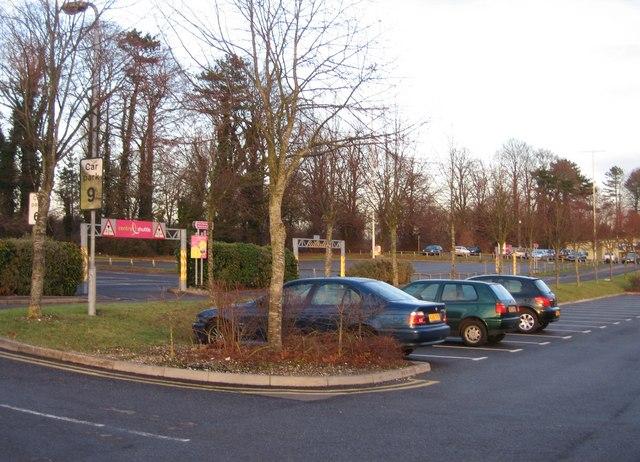 Centre Shuttle car park