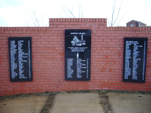 Moorfield Colliery Memorial