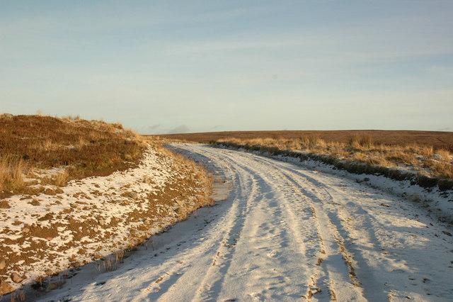 Hill track near Drynachan