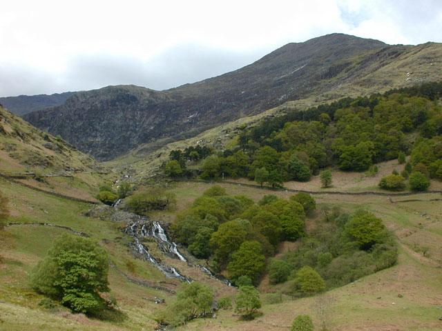 The entrance to Cwm Llan