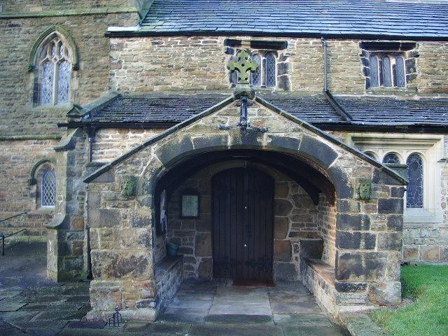 Parish Church of St James, Altham, Porch