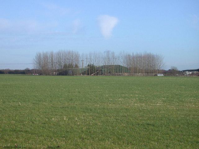 Cuckoo Hill Farm from Rampton Drift