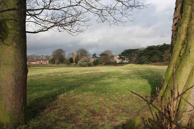 Farmland near Strelley