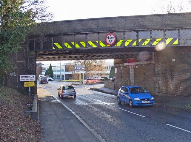 Railway Bridge over Rugby Road