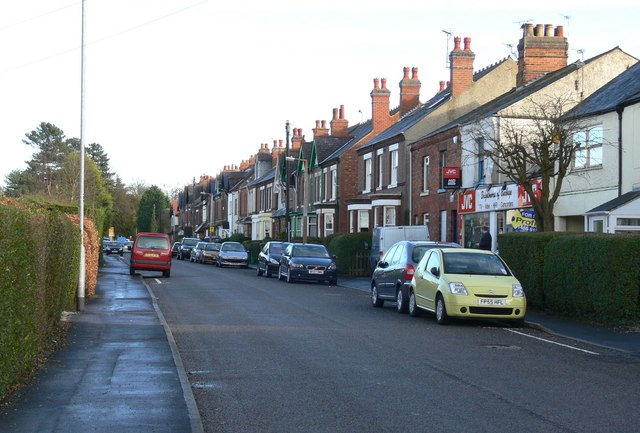 Sketchley Road in Burbage, Leicestershire