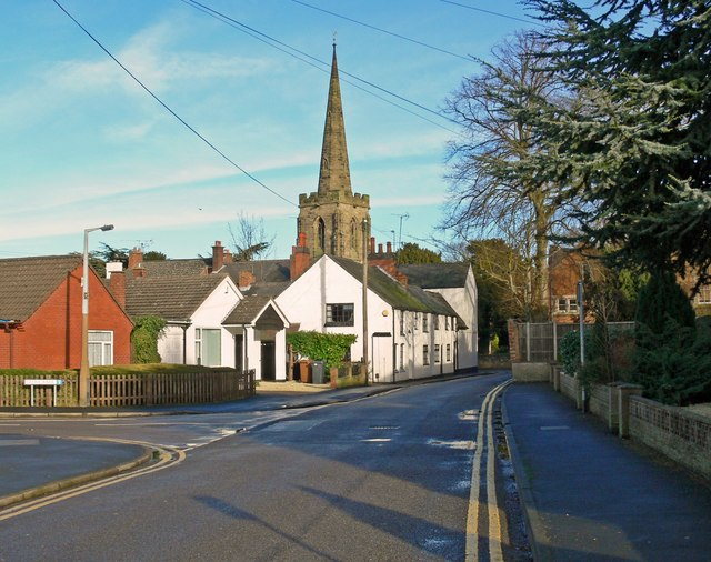 Grove Road in Burbage, Leicestershire