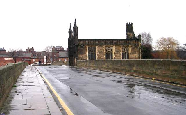 Medieval Bridge with Chantry Chapel