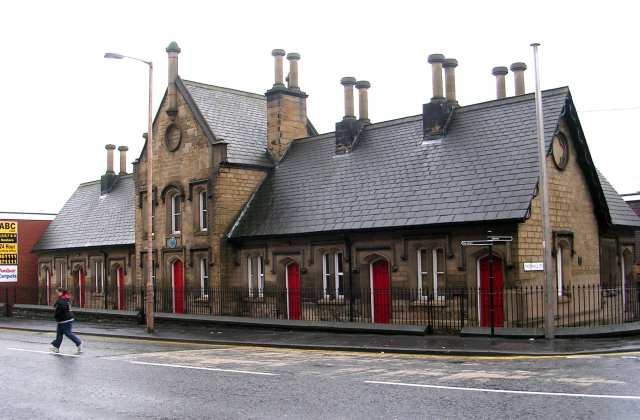 Caleb Crowther Almshouses - George Street