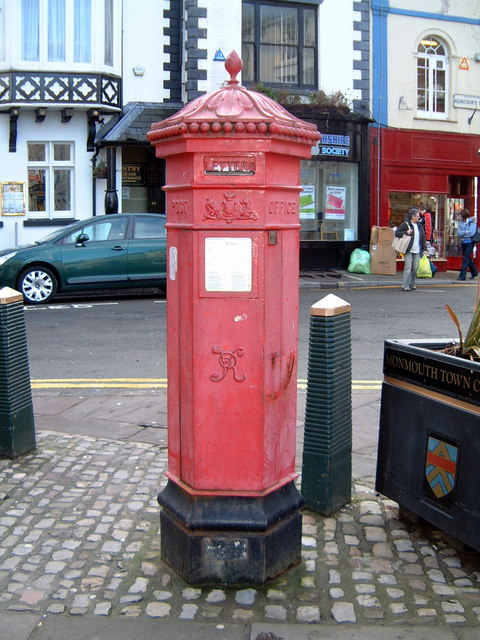 Victorian Pillar Box in Monmouth