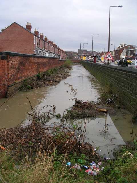 Muddy Beck - Westgate End