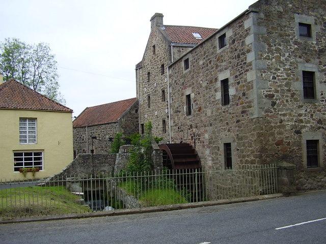 Poldrate Mill, Haddington, East Lothian.