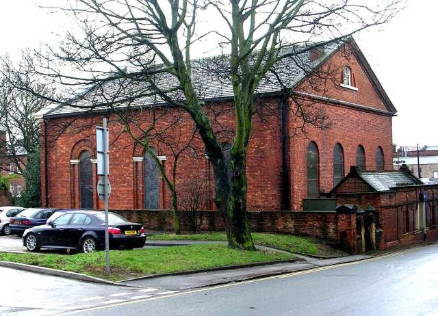 Unitarian Chapel - Westgate - viewed from Back Lane