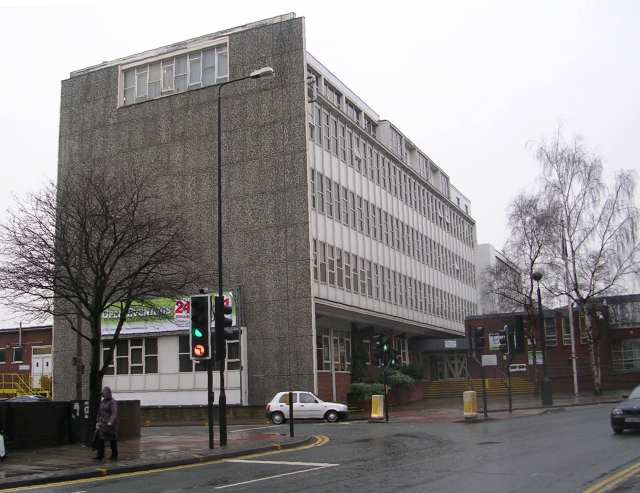 Wakefield College - viewed from Bond Street