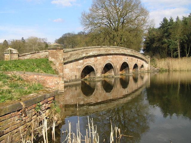 TheSham Bridge, Chillington Estate