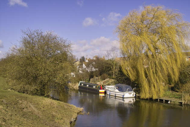 River Nene (old course), March