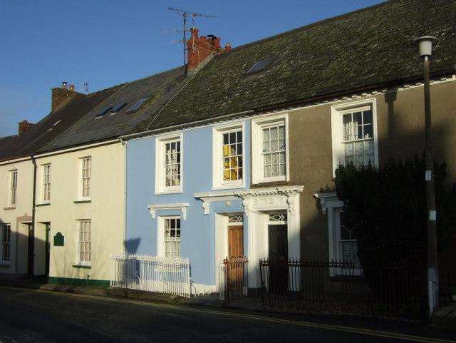 Houses in Hamilton Street