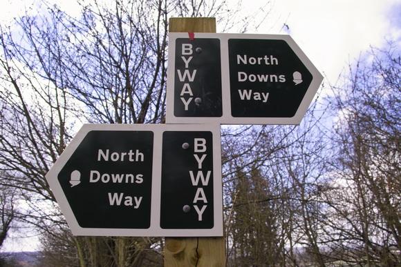 North Downs Way Signpost
