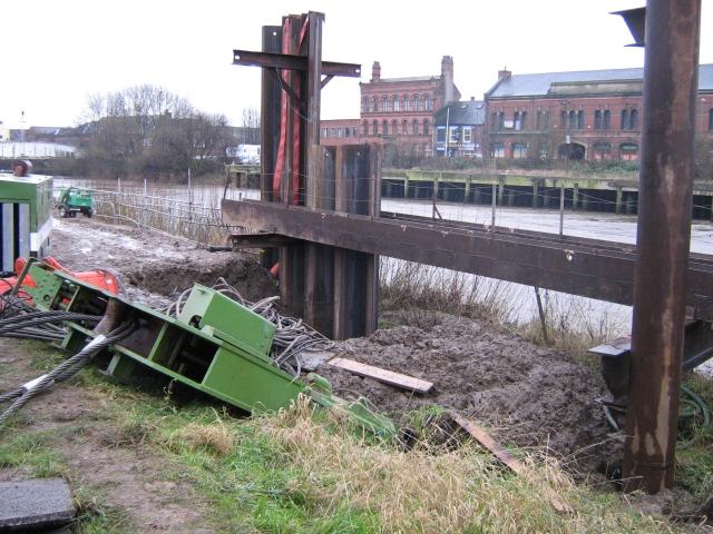River bank reinforcement