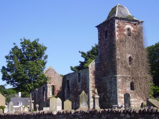 Ancient Church, North Berwick, East Lothian.