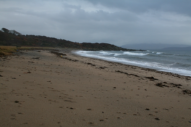 Saddell Bay and Pluck Point