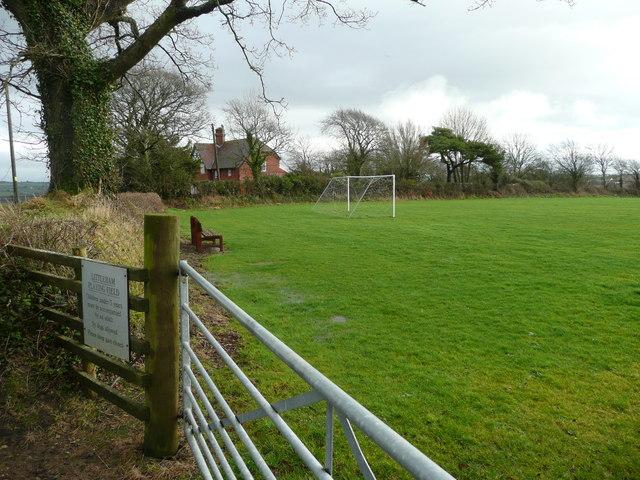 Littleham playing field