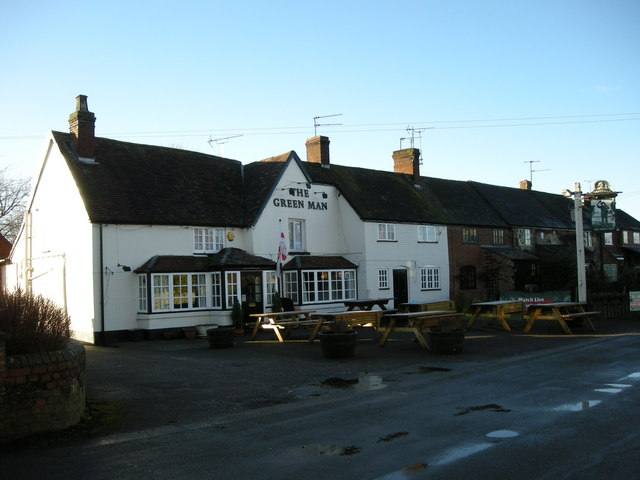Long Itchington-The Green Man