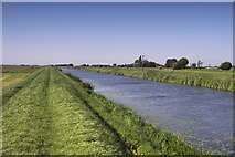 TL3896 : River Nene (old course) at March by dennis smith