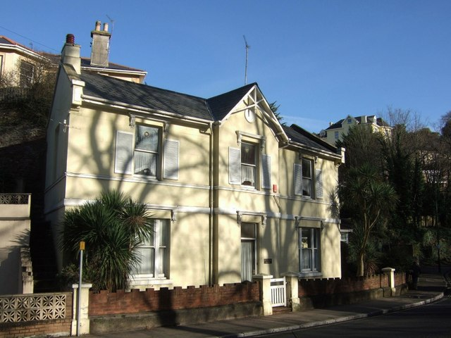 House on Lymington Road, Torquay
