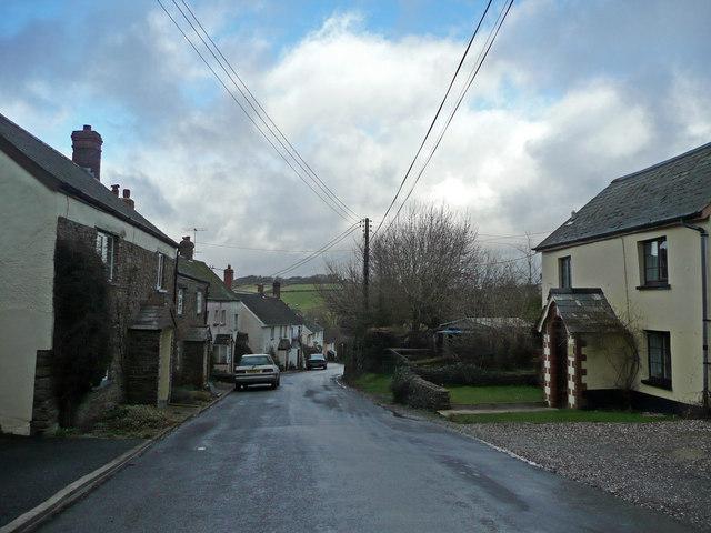 Cottages on Alwington Road, Woodtown