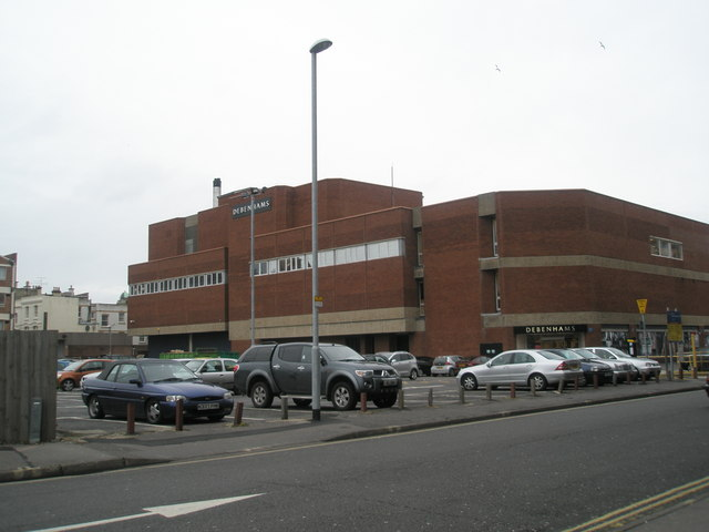 Debenhams at Commercial Road