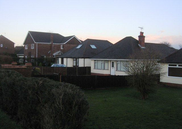Bungalows on Roman Road