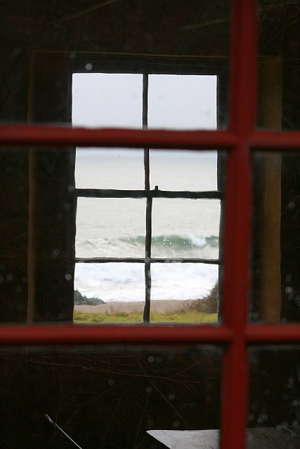 View from the Hut at Port na Gael