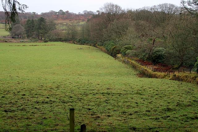 Farmland at Saddell