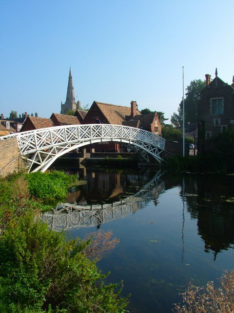 Chinese Bridge, Godmanchester