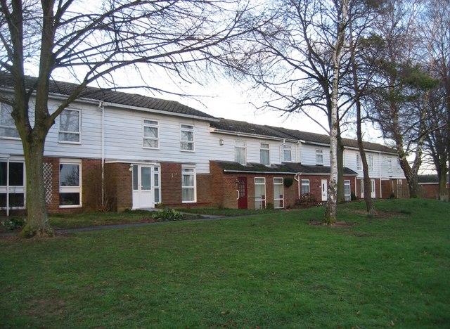 Housing on Winklebury Way
