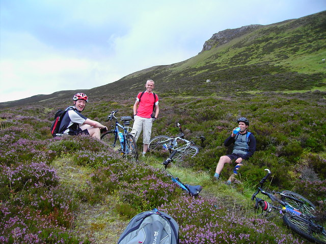Trail to East of Sron na h Innearach