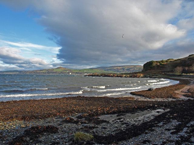 White bay, Great Cumbrae Island