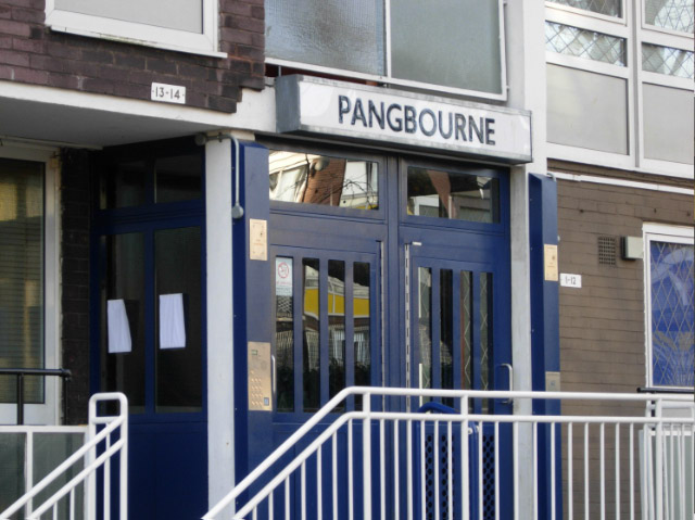 Entrance to Pangbourne