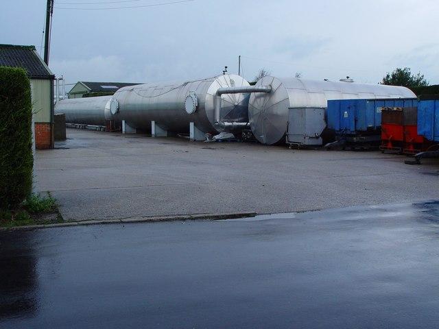 Fuel Storage Tanks, Cottingham