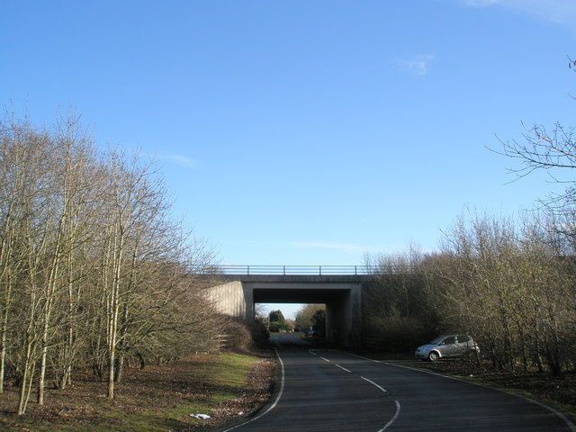 Looking towards A27
