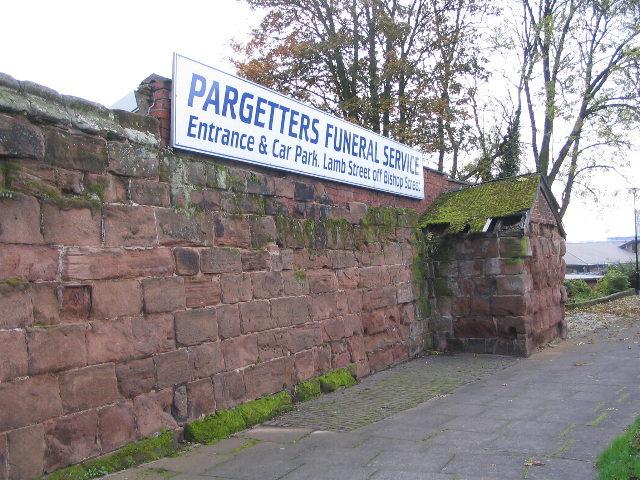 City wall remnant, Ringway St Nicholas