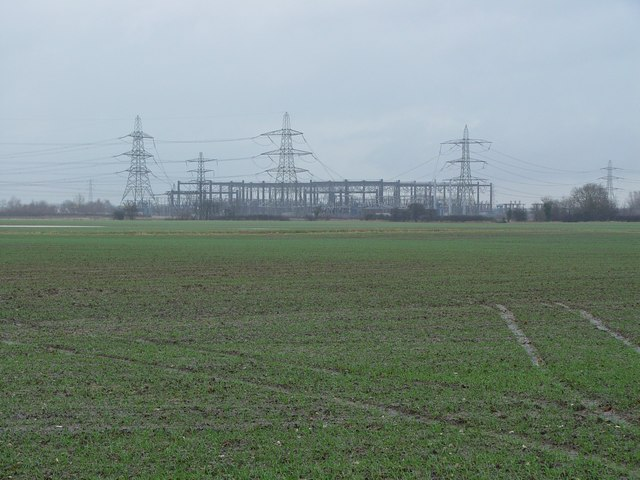Electricity Sub Station, North of Cottingham