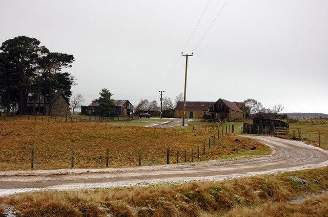 Farm near Achnahannet