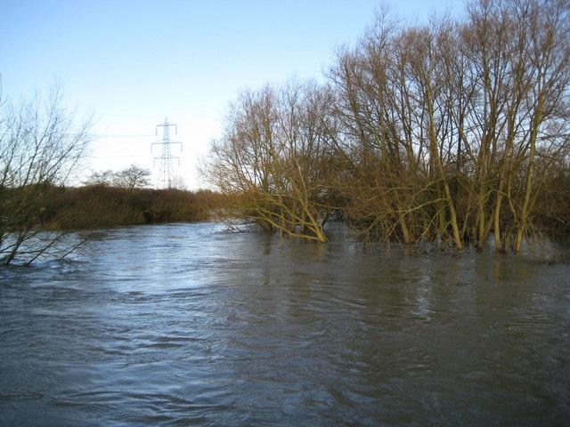 River Thames near Sandford Lock