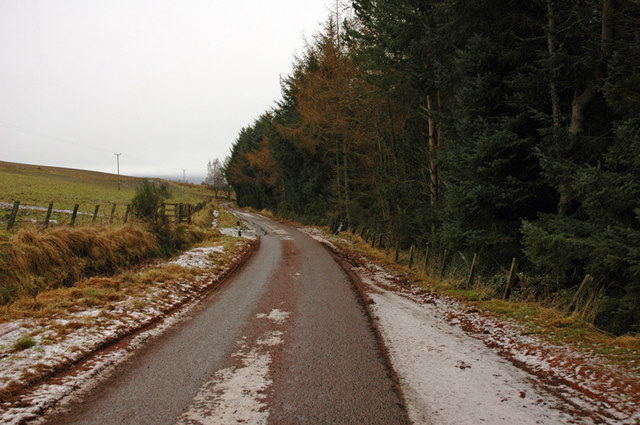 Minor road to Achnahannet