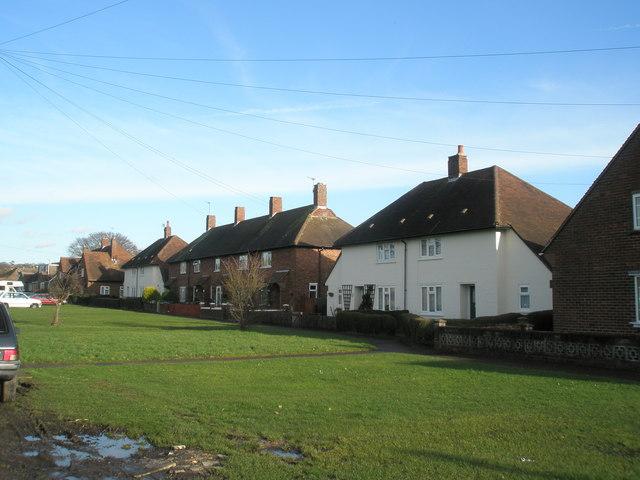 Cottages in Blackboy Lane