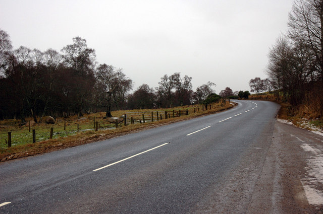 A938 near Dulnain Bridge