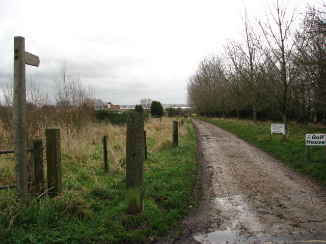 Footpath to the easternmost point of East Mersea