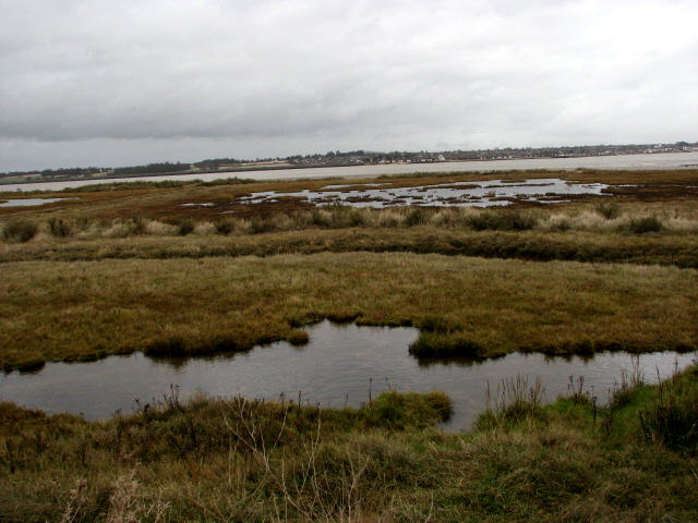 View east across Brightlingsea Reach